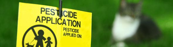 Garden Pesticides Sign