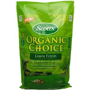 Scott's Organic Lawn Fertilizer